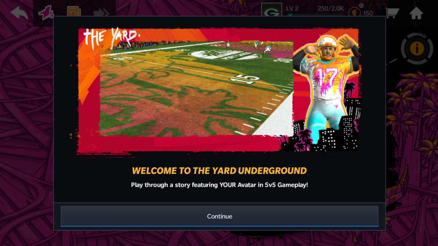 Madden Nfl 21 Mobile The Yard W Shared Gear On Console Madden News Muthead